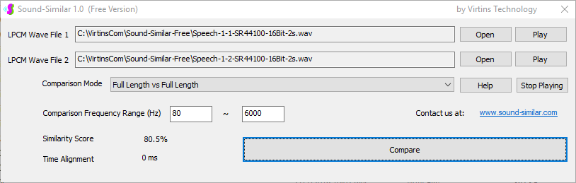 Speech-1-2-Sound-Similar