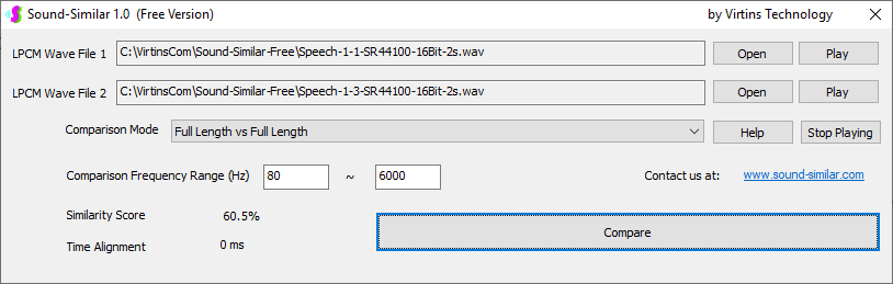 Speech-1-3-Sound-Similar