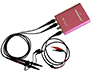 2 x 100MHz oscilloscope probes, 1 test lead for Signal Generator & a 1.5m USB cable