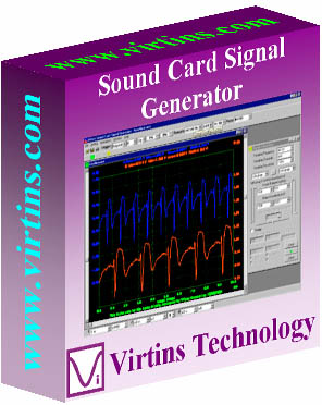 Virtins Sound Card Signal Generator Screen shot