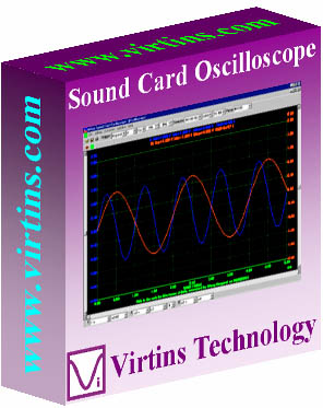 Virtins Sound Card Oscilloscope Screen shot