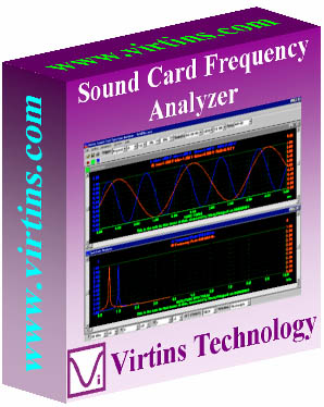 Click to view Virtins Sound Card Spectrum Analyzer 3.7 screenshot