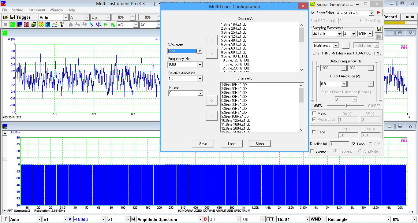 Multi-Instrument - Signal Generator by Virtins Technology