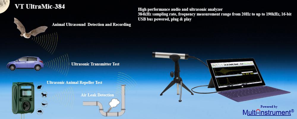 PC USB Oscilloscopes, Spectrum Analyzers, Signal Generators